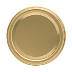 Gläserdeckel 82mm gold Twist-off