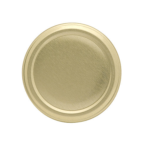 Gläserdeckel 58mm gold Deep Twist-off