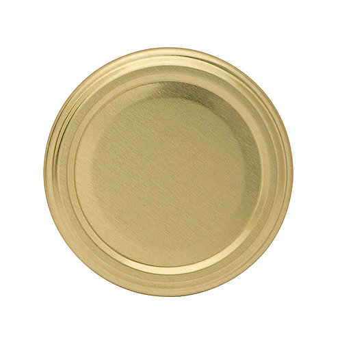 Gläserdeckel 63mm gold Twist-off