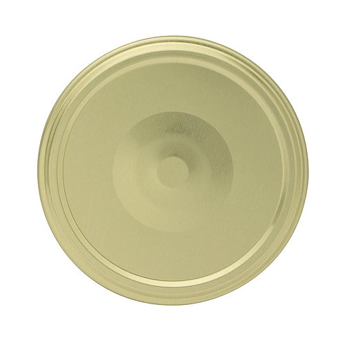 Gläserdeckel 82mm gold Button Twist-off