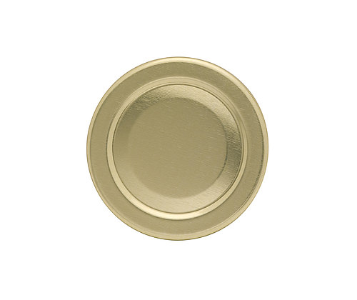 Gläserdeckel 43mm gold Twist-off