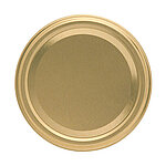 Gläserdeckel 82mm gold Deep Twist-off